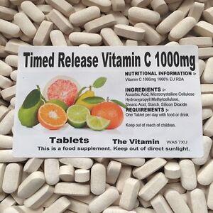 Il Vitamina a Rilascio Controllato Vitamin C 1000mg 365 Compresse - IN Bustina