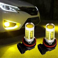 2pcs HID Amber 3000K HID LED Fog Light Bulb For Dodge RAM 1500 2500 3500 03-2008