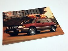 1998 Subaru Forester Information Sheet Brochure