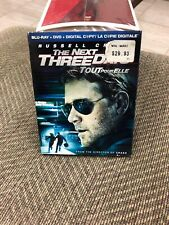 The Next Three Days (Blu-ray/DVD, 2011, 2-Disc Set) W Slipcover Russell Crowe