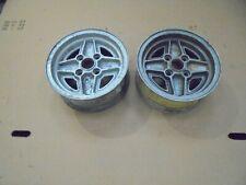 """Ford Escort mk1/2 RS Alloys 13"""" x 5.5"""" Rare European Style....pair. Ronal's."""