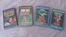 Star Trek Original Series Audio Cassette Books (Set of 4) New