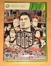 Sleeping Dogs (Xbox 360) NEW FACTORY SEALED --- Square Enix Hong Kong Video Game