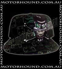 BN KRUSTY THE CLOWN BLACK MONSTER GREEN SKULL NITRO CIRCUS TRUCKER HAT SNAPBACK