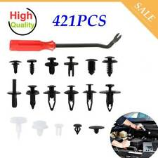 421X Car Body Plastic Push Pin Rivet Fasteners Screw Trim Moulding Bumper Clips