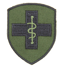 2ND MEDICAL BRIGADE MEDICS BRITISH ARMY 2 MED BDE OLIVE BLACK TRF FLASH PATCH