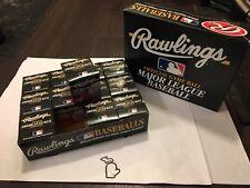UNSIGNED 1995-99 Gene Budig Rawlings OAL Official American League Baseball MT