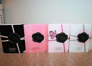 4 Viktor & Rolf Flowerbomb Perfume Samples Midnight Bomblicious Nectar Dew .04oz