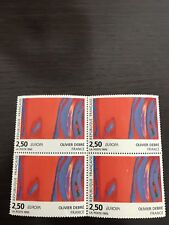 4 TIMBRES NEUFS 2,50€  EUROPA 1993 OLIVIER DEBRE