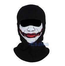 DC Batman Joker Balaclava Mask Ghost Cosplay Face Hood Halloween CS Biker