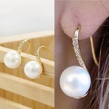Fashion Jewelry Drop Earings Crystal Earings Women Trendy Faux Pearl Earing SEAU