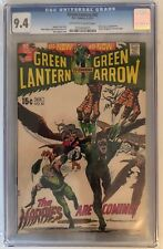 GREEN LANTERN #82 - CGC 9.4 -  BLACK CANARY APPEARS - WRIGHTSON ART - OW/W PAGES