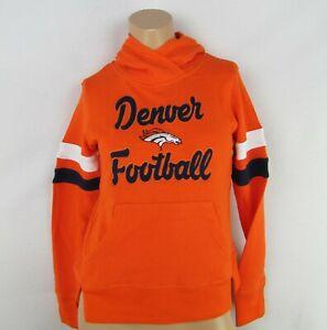 Denver Broncos NFL Youth Orange Pullover Hoodie