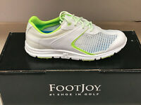 NEW FootJoy Superlites 98829 Womens Golf Shoes White/Lime 5.5M Were $80