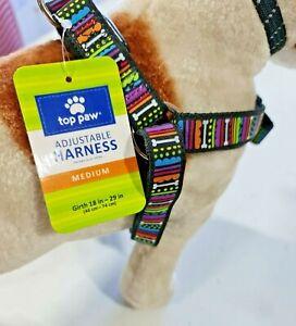 Nylon Step In Safety Dog/Puppy/Pet Animal Harness Adjustable medium toppaw