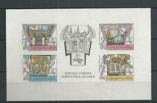 1988 MNH Tschechoslowakei Mi block  80
