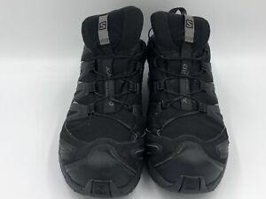 Salomon Mens Trainers Size UK 11.5 Gore-Tex XA PRO 3D Walking Hiking Black