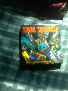 TOOL TROUBLE Build it yourself PUZZLE 17 PIEcES