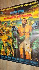 LA PLANETE DES SINGES planet of the apes ! charlton heston affiche cinema mascii
