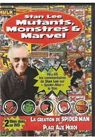 DVD STAN LEE mutants monstres et marvel / la creation de spider man
