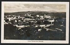 Postcard RPPC Caracas Venezuela Vista Parcial de Caracas