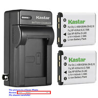 Kastar Battery Wall Charger for Olympus Li-40B Li42B & Olympus VR-320 Camera