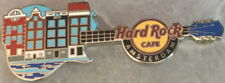 Hard Rock Cafe AMSTERDAM 2013 CANAL HOUSES on GUITAR PIN #3 of 3 - HRC #74311