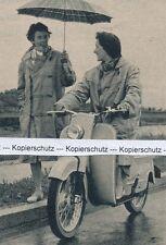 DKW Hobby-scooter-MOTO-pour 1955 ou avant (?) - rar J 20-9