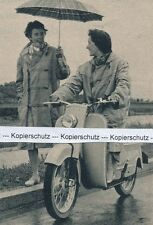DKW Hobby - Roller - Motorrad  - um 1955 oder früher (?) - RAR        J 20-9