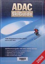 ADAC SkiGuide 2008 mit CD-ROM (Gebundene Ausgabe) 1500 Skigebiete in aller Welt