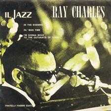 RAY CHARLES Il Jazz ITA Press Fratelli Fabri SdMJ 008 EP