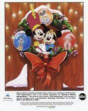 MICKEY MOUSE MINNIE MOUSE DONALD DUCK GOOFY THE NUTCRACKER 1998 ABC TV PHOTO