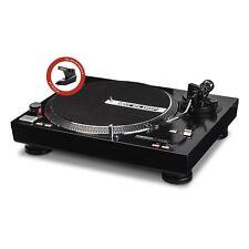 GUT: Reloop RP-4000M DJ Plattenspieler, Torque Direktantrieb (schwarzmetallic)