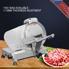 New ListingUs 250mm Blade Commercial Semi-automatic Meat Slicer Frozen Food Cutting Machine