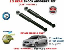 FOR OPEL VAUXHALL VECTRA C Estate 2002-2008 2 REAR LEFT + RIGHT SHOCK ABSORBERS