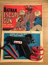 1966 Batman Escape Gun RARE Black version par LINCOLN INTERNATIONAL