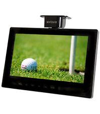 "Visua 10.2"" Black Flip Down 12v/240v Volt LCD Freeview TV for Kitchens & Homes"