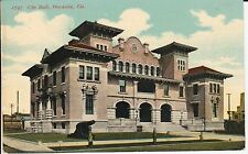 Early 1900's The City Hall in Pensacola, FL Florida PC