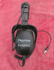 NOKTA /MAKRO WATERPROOF HEADPHONES -FOR USE METAL DETECTOR