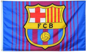 FC Barcelona Crimson Navy Cules Flag 3X5ft Banner Soccer Football