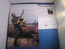 Bruce Springsteen Signed 12x18 Photo PSA DNA COA LOA Sketch Art Rare Autograph