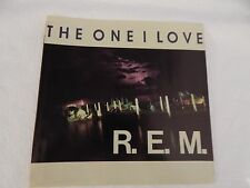 """R.E.M. """"The One I Love"""" PICTURE SLEEVE! MINT! PERFECT! ONLY NEW COPY ON eBAY!!"""