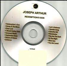 JOSEPH ARTHUR Redemption's Son Ultra Rare TST PRESS ADVNCE PROMO CD USA  2002