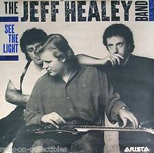 JEFF HEALEY BAND 1988 SEE THE LIGHT PROMO POSTER ORIGINAL