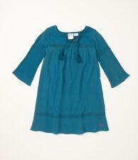 Roxy Kids Size 5 Peace LOvin Aqua Dress
