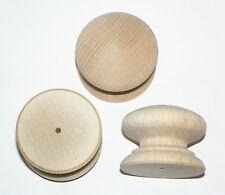 10 en bois de hêtre meuble tiroir poignées placard dur 46mm tirer