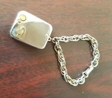 """Vintage Swiss Made Minature Music Box Bracelet. """"Let me call you sweetheart"""""""