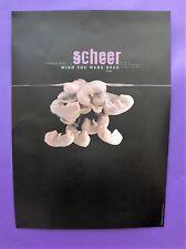 4AD Scheer PROMO POSTER Wish You Were Dead ORIGINAL 1996 UK northern irish