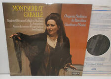 SXLR 6690 Montserat Caballe Recital Orquesta Sinfonica De Barcelona / Masini