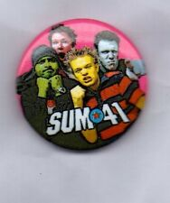 SUM 41 BUTTON BADGE Canadian Rock Band - Does This Look Infected?  25mm Pin